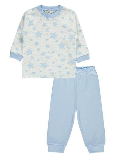 Civil Baby Civil Baby Bebek Pijama Takımı 3-12 Ay Mavi Civil Baby Bebek Pijama Takımı 3-12 Ay Mavi Mavi